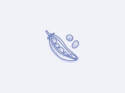 Peas illustration etching engraving greenpea peas leguminous veggies vegetarian veganfood icons iconography icondesign