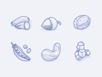 Veggie Food Icons 2