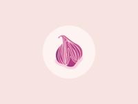 Veggie Food Icons : Onion