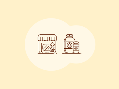 Vet Icons - Work in Progress iconset veterinarian animal hospital vet medicine vet illustration icons