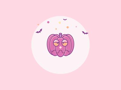 Bored Pumpkin Halloween