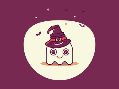 Halloween 31st October illustration halloween icons scary holliday halloween night sortinghat ghost halloween halloween2018