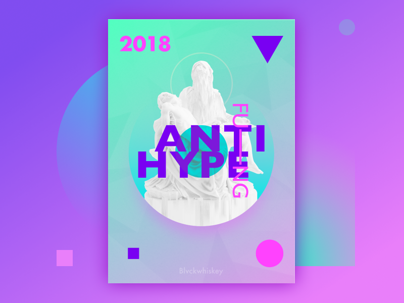 "Poster #1 ""ANTIhype"""