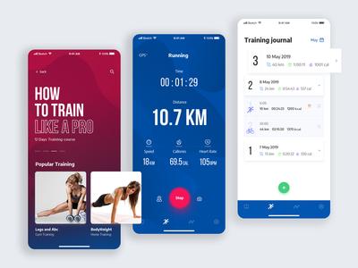 run training app