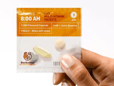 Pills vitamins for dog