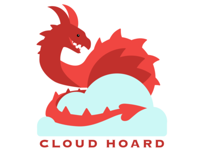 Cloud Hoard logo dragon