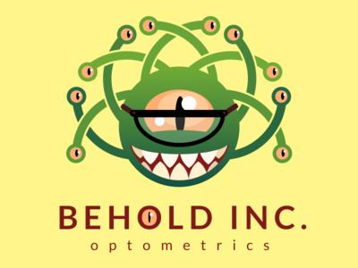 Behold Inc. illustration logo beholder