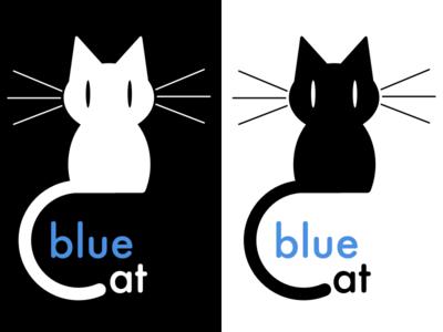 Bluecat Logo 1 cat logo