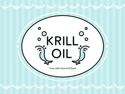 Krill Oil label