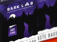 Bark Lab illustration pet packaging design packaging grid vector logo color branding brand graphic design design box