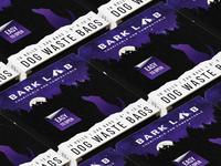 Bark Lab illustration box dog pet packaging design vector logo color branding brand graphic graphic design design