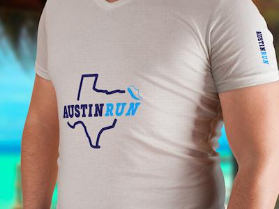 Day 07 / Austin Run visual thirtylogos logos identity challenge branding brand