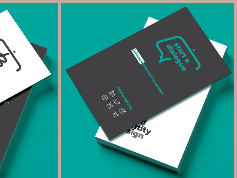 Business Card 2 design identity minimal illustration brand logo