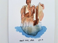 Camel Rock Watercolor 2