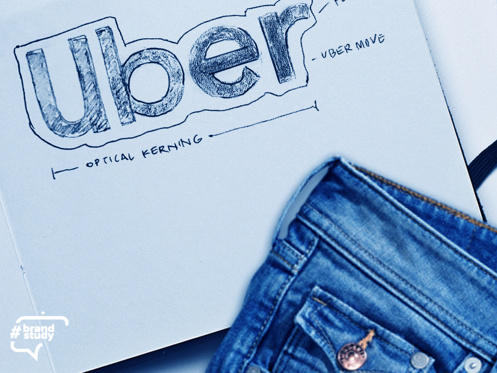 #brandstudy: Uber branding ui typography identity icon brand logo