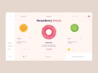 Donuts - UI Design