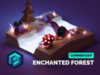 Enchanted Forest Commentary Tutorial