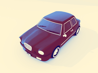 Cartoon Car Color Tones
