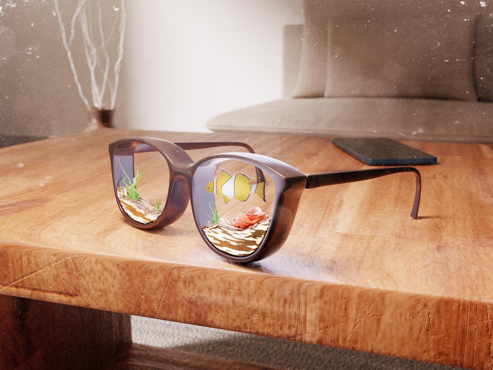 Glasses 4x