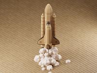Cardboard Shuttle