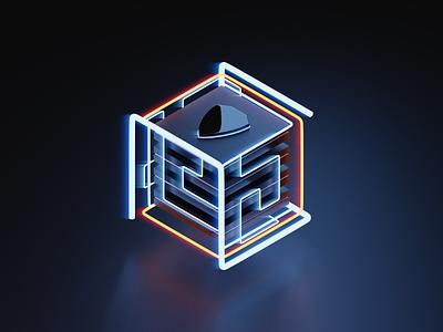 Illustration security glow 4x