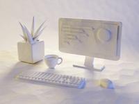 Workspace Light Study