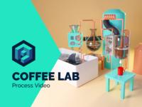 Coffee Lab Speed Process Video 🎓