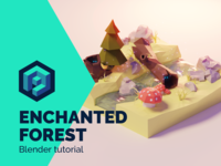 Enchanted Forest - Blender Tutorial