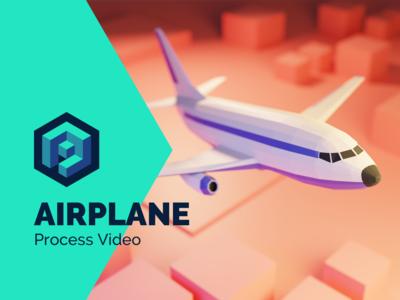 Airplane Tutorial in Blender 2.8