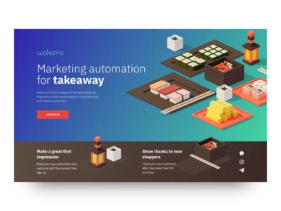 Marketing Tool Landing Page