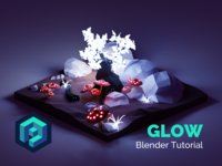 Glow - Blender Tutorial 👨‍🎓
