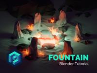 Fountain Blender Tutorial