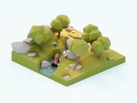 Forest Diorama 🌳