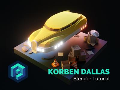 Korben Dallas Blender Tutorial