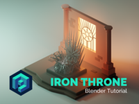 Iron Throne Blender Tutorial
