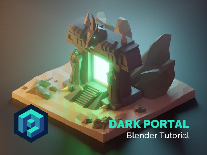 Dark Portal Blender 2 8 Tutorial by Roman Klčo on Dribbble