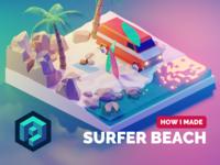 Surfer Beach Tutorial