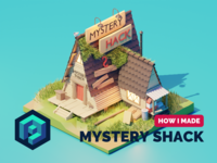 Gravity Falls Mystery Shack Tutorial
