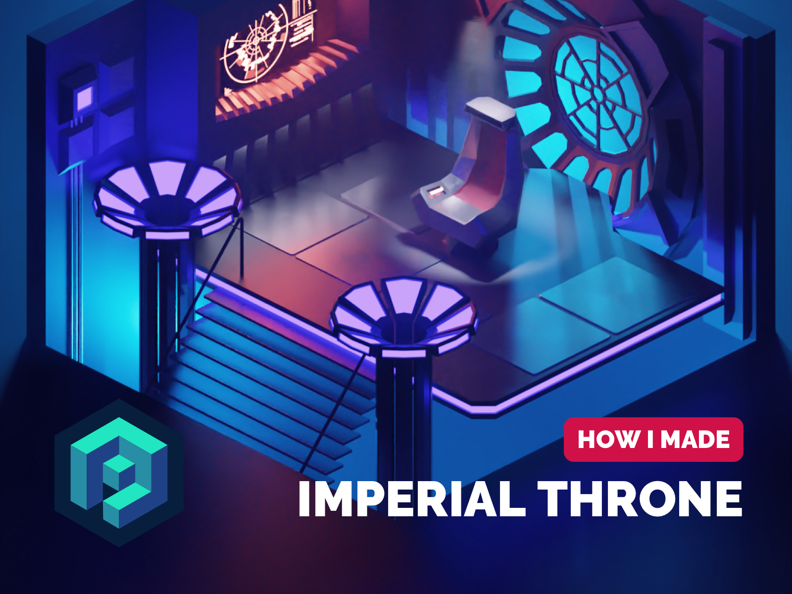 Imperial Throne Room Tutorial By Roman Klco On Dribbble
