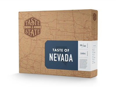 Taste a State Packaging Concept