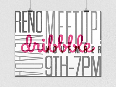 Reno Dribbble Meetup