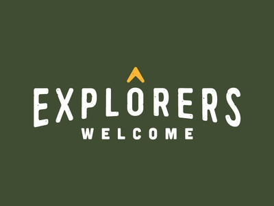 Explorers Welcome Mark