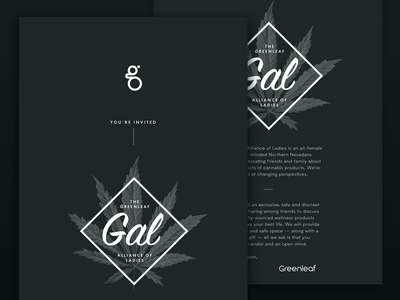 Greenleaf Invite Design