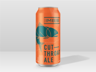Imbīb Cutthroat Ale - Label Concept [ORANGE]
