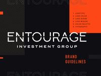 Entourage Logo & Brand Guidelines Cover Page