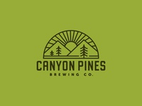 Canyon Pines Brewing Co. Logo