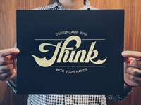 Think With Your Hands - Poster