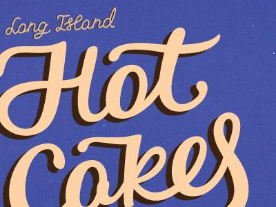 Hot Cakes Lettering lettering logo