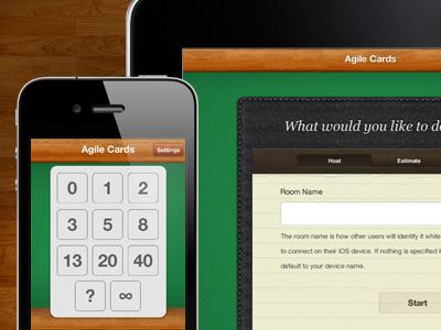 Agile Cards ios agile estimation