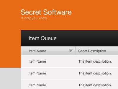 Orange ui orange software interface